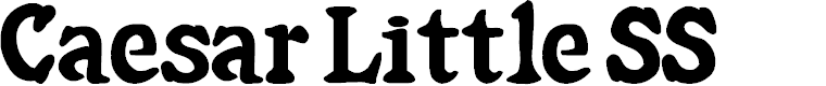Preview image for Caesar Little SS Font