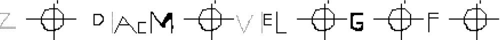 Preview image for ZODIAC MOVIE LOGO FONT Regular Font