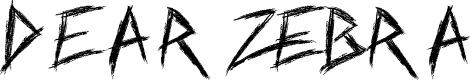 Preview image for Dear Zebra Font