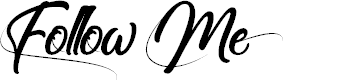 Preview image for Follow Me Font