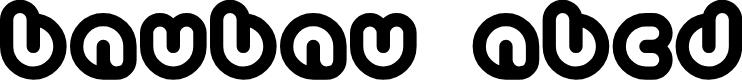 Preview image for Baubau Font