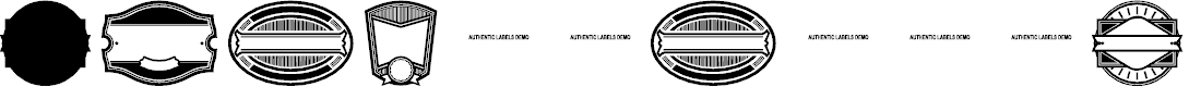 Preview image for AuthenticLabelsDemo Font
