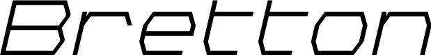 Preview image for Bretton Italic