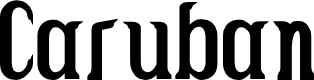 Preview image for Caruban Font