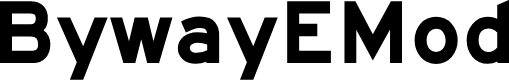 Preview image for BywayEMod Font