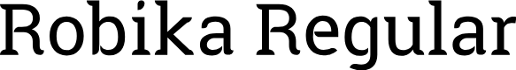 Preview image for Robika Regular Font