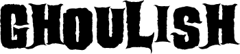 Preview image for Ghoulish Font