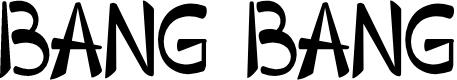 Preview image for Bang Bang  Font