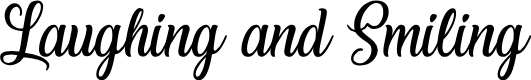 Preview image for Laughing and Smiling Font