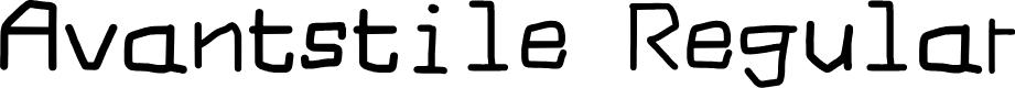 Preview image for Avantstile Regular Font