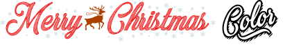 Merry Christmas Color Regular font