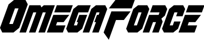 Preview image for OmegaForce Condensed Italic