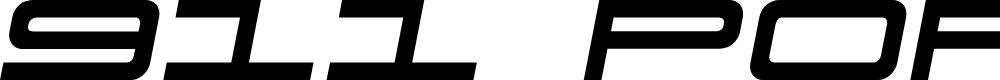 Preview image for 911 Porscha Semi-Italic