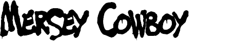 Preview image for Mersey Cowboy Font