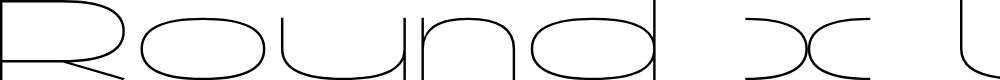 Preview image for Round x LOVE Font