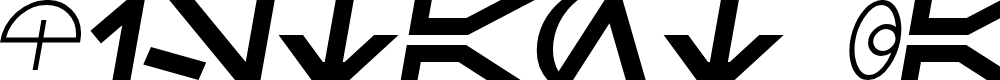 Preview image for SF Distant Galaxy Symbols Italic