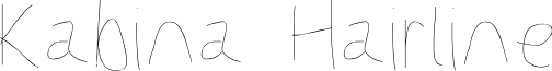 Kabina Hairline