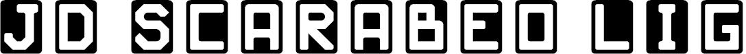 Preview image for JD Scarabeo Light Regular Font