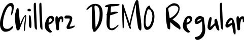 Preview image for Chillerz DEMO Regular Font