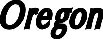 Preview image for Oregon LDO Condensed Black Oblique