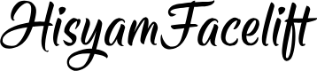 Preview image for HisyamFacelift Font