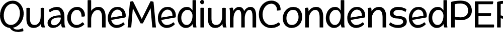QuacheMediumCondensedPERSONA