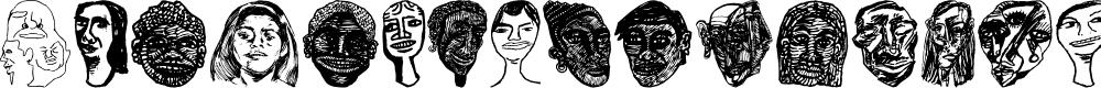 Preview image for Faces Plain Font