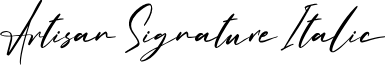 Artisan Signature Italic