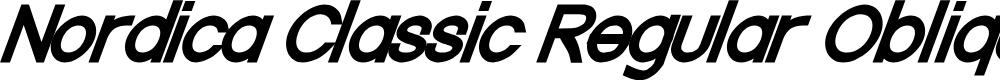 Preview image for Nordica Classic Regular Oblique