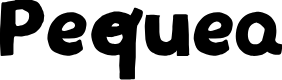Preview image for Pequea Font