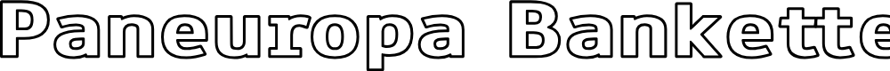 Preview image for Paneuropa Bankette Font