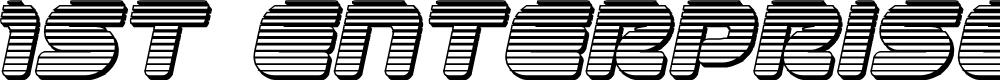 Preview image for 1st Enterprises Chrome Italic