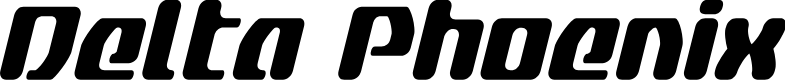 Preview image for Delta Phoenix Condensed Italic