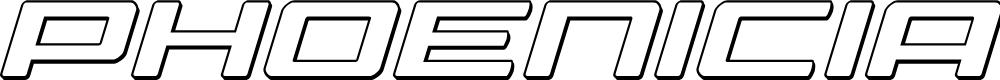 Preview image for Phoenicia 3D Italic Italic
