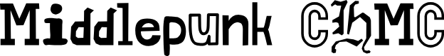 Preview image for Middlepunk CHMC Font