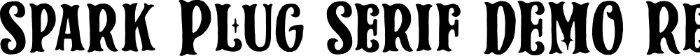 Preview image for Spark Plug Serif DEMO Regular Font