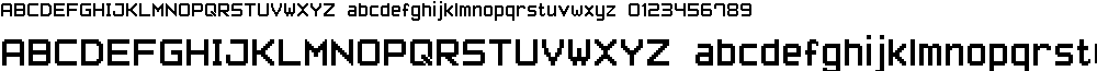 Pixel Font-7