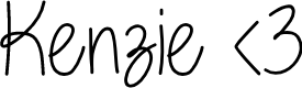 Preview image for Kenzie Font