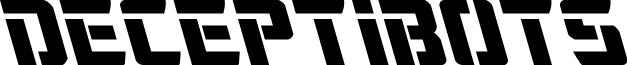 Deceptibots Leftalic