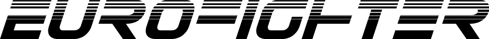 Preview image for Eurofighter Halftone Italic