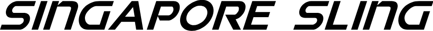 Singapore Sling Super-Italic
