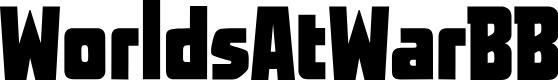 Preview image for WorldsAtWarBB Font