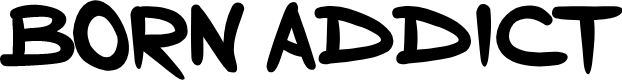 Preview image for Born Addict Font