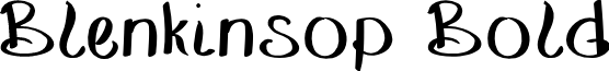 BlenkinsopBold