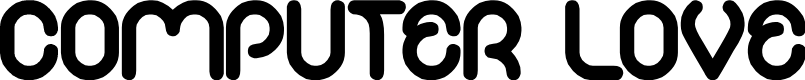 Preview image for COMPUTER LOVE Font