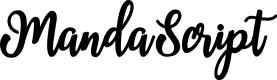Preview image for MandaScript Font