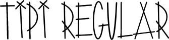 Preview image for Tipi Regular Font
