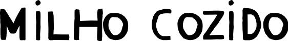 Preview image for Milho Cozido Font