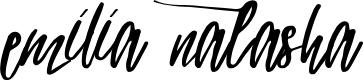 Preview image for emilia natasha Font