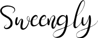 Preview image for Sweengly Font